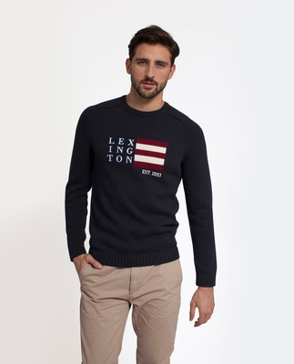 Dylan Sweater, Deep Marine Blue