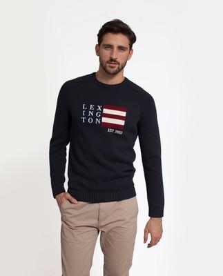 Dylan Sweater, Deep Marine Blue