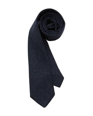 Glendale Wool Tie, Blue