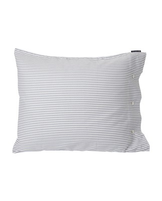 White/Black Tencel Striped Pillowcase