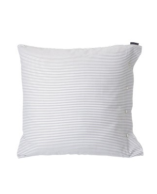 White/Black Tencel Striped Pillowcase