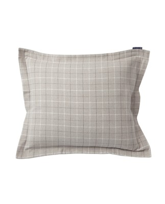 Cashmere Flannel Pillowcase, Gray