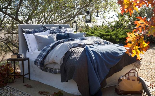 Lexington Bed Blanket, Blue