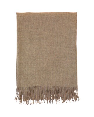 Baby Alpaca Throw, Beige