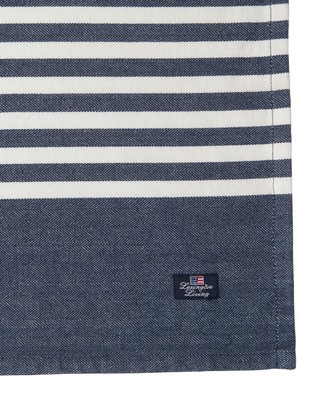 Striped Placemat, Blue/White