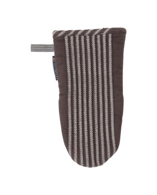 Striped Mitten, Gray
