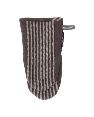Striped Mitten, Gray