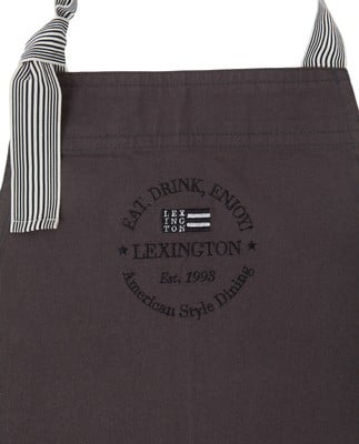 Canvas Apron High, Dark Gray