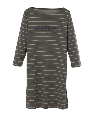 Vera Nightgown, Green/White