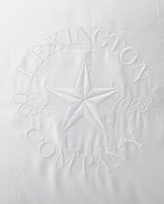 Lexington Embroidery Pillowcase, White