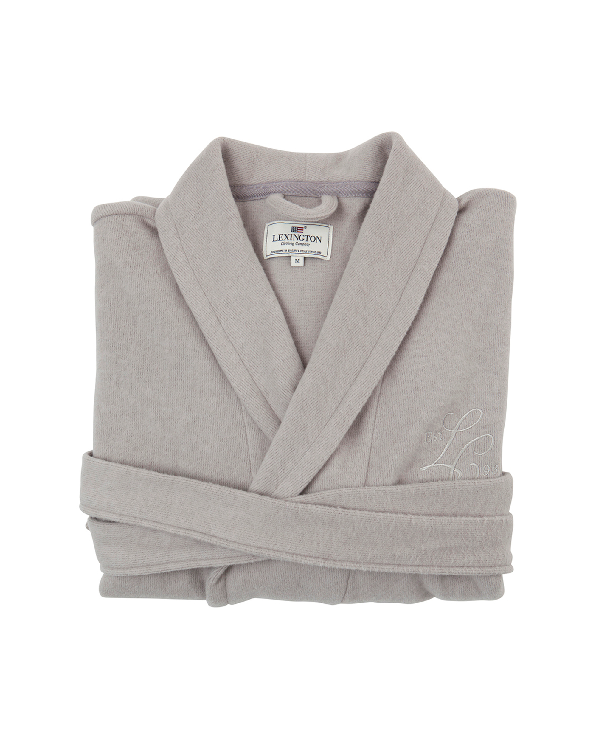 Vendela Cotton/Cashmere Robe, Gray